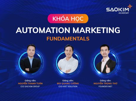 Khóa học Automation Marketing [Fundamentals]