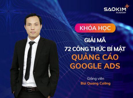 Khóa học 72 Công thức quảng cáo Google Ads đỉnh cao